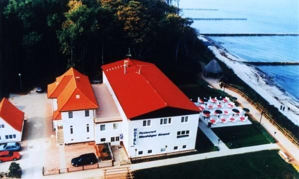 Hotel Nienhäger Strand Blick auf`s Meer