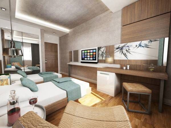 Hotel Bodrum Güllük Marina Suites & Spa (all rooms suite)