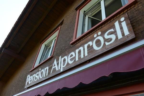 Pension Alpenrösli
