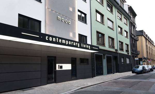 Hotel mood contemporary living
