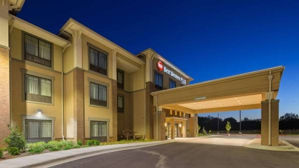 Hotel BW PLUS TUSCUMBIA MUSCLE SHOALS HTL&STES