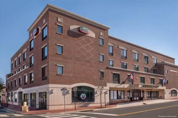 Hotel Courtyard Fredericksburg Historic District