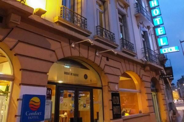 Comfort Hotel Cecil Metz Gare