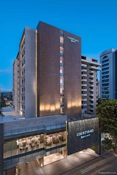 Hotel Courtyard Guatemala City