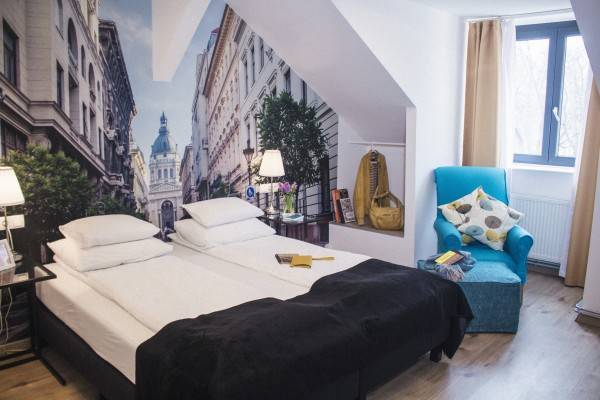 Hotel FIFTEEN Boutique Rooms Budapest