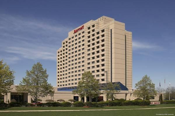 Hotel Detroit Marriott Troy