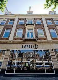 Hotel V frederiksplein non smoking hotel