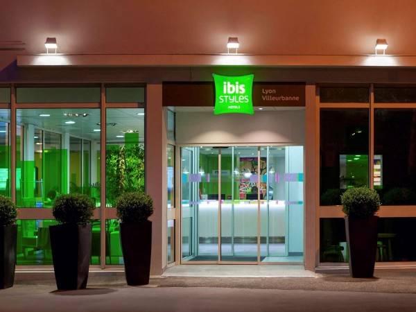 Hotel ibis Styles Lyon Villeurbanne Parc de la Tête d'Or