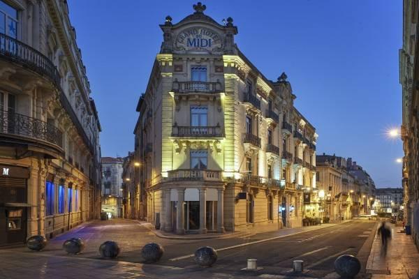 Grand Hotel du Midi Montpellier Opéra Comédie