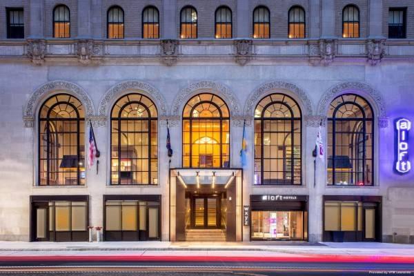 Hotel Aloft Philadelphia Downtown