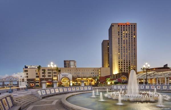 Hotel Hilton New Orleans Riverside