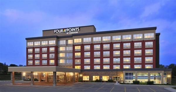 Hotel Four Points by Sheraton Cambridge Kitchener Ontario
