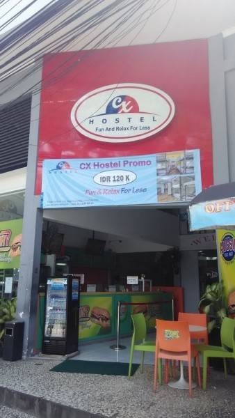 CX Hostel Legian