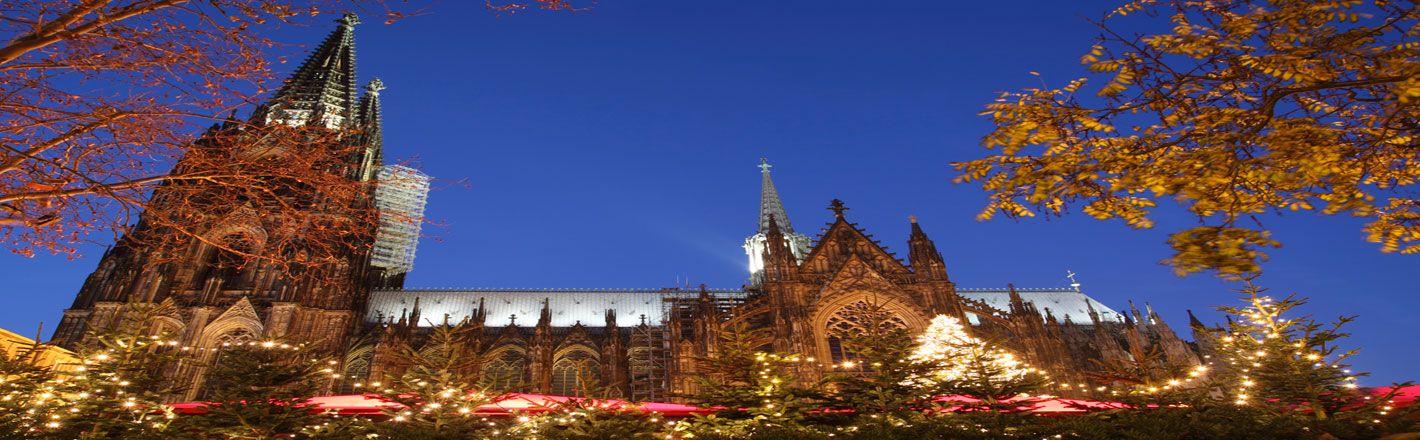 Finden Sie bei HRS Hotels in der Nähe des Weihnachtsmarkts am Kölner Dom ✓ideale Verkehrsanbindung ✓zentrale Lage