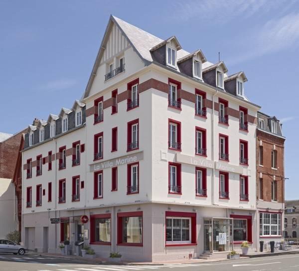 Hotel The Originals Le Tréport La Villa Marine