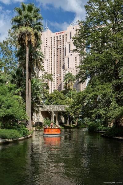 Hotel San Antonio Marriott Rivercenter.