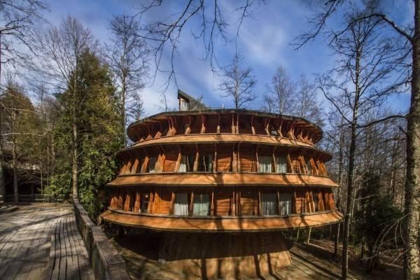 Hotel Huilo Huilo Reino Fungi
