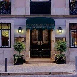Hotel As Janelas Verdes a Lisbon Heritage Collection