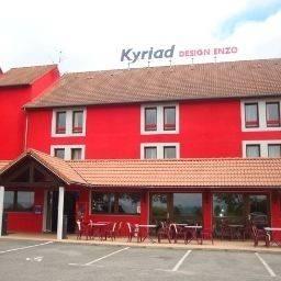 Hotel Kyriad Design Enzo Montluçon