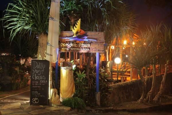 Pondok Pitaya Hotel, Surfing & Yoga