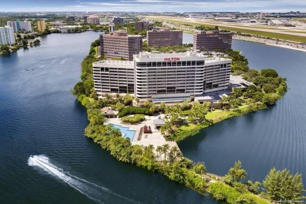 Hotel Hilton Miami Airport Blue Lagoon