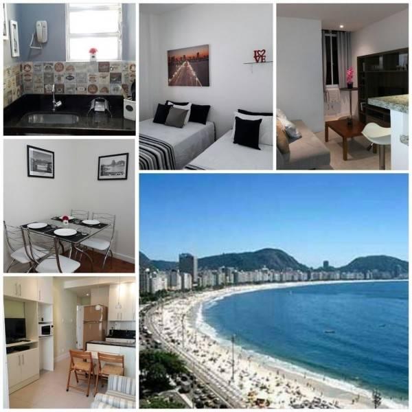 Hotel VIP FLAT on Copacabana Beach