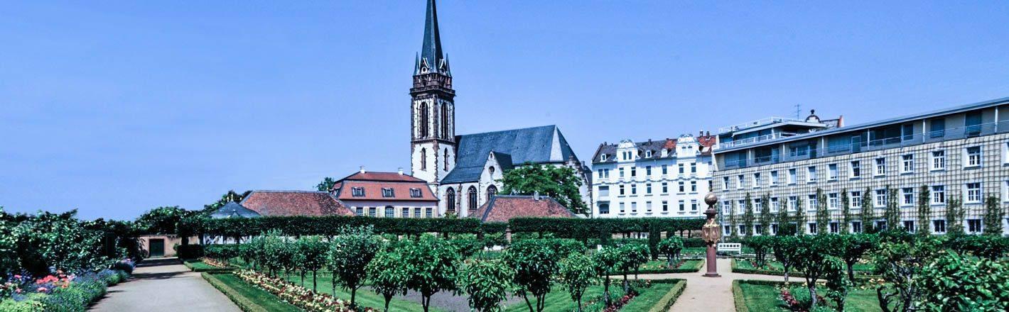 Darmstadt est la ville de l'innovation, la ville qui invente et recrée, non seulement les choses, mais aussi elle-même !