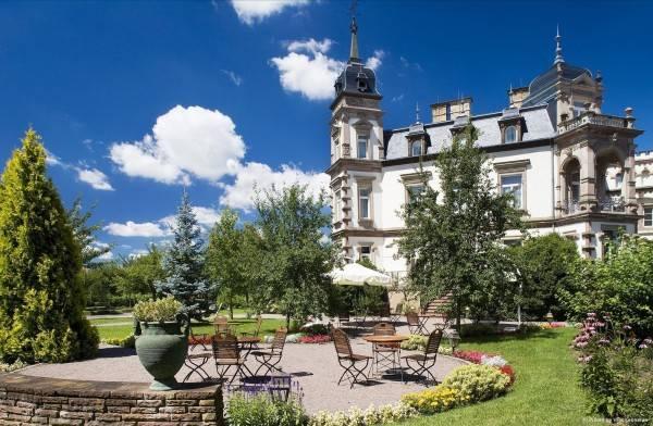 Hotel Château de l'Ile Grandes Etapes Francaises