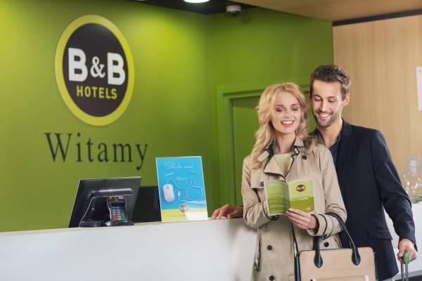 Hotel B&B Warszawa Okęcie