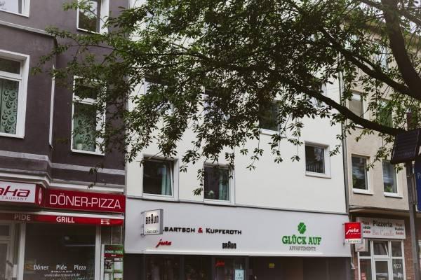 Hotel GLÜCK AUF Appartements Rüttenscheider Straße