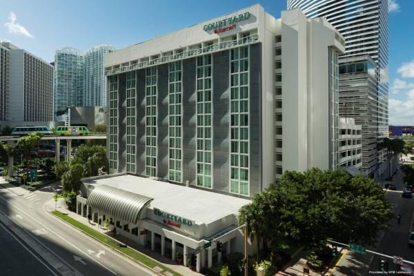 Hotel Courtyard Miami Downtown/Brickell Area