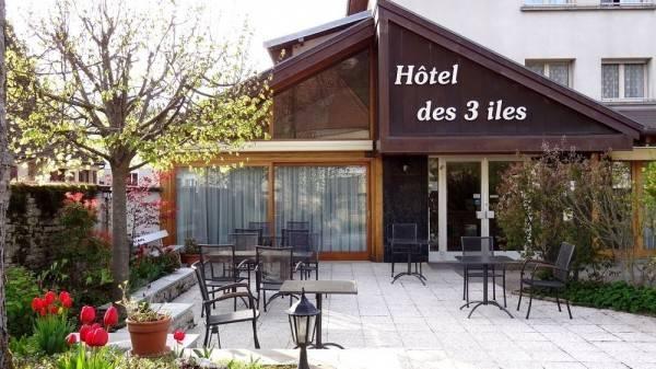Logis Hôtel Des Trois Iles