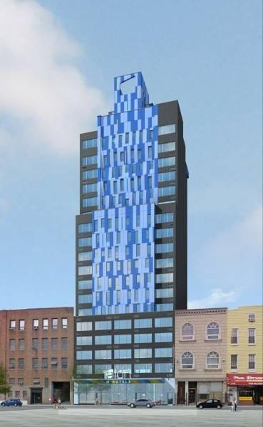 Hotel Aloft Long Island City-Manhattan View
