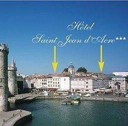 Hôtel Saint Jean d'Acre The Originals Boutique La Rochelle Vieux Port (ex Inter-Hotel)