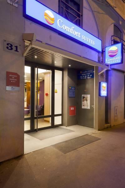 Hotel Comfort Suites Rive Gauche Lyon Centre