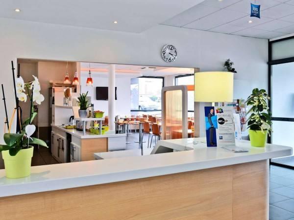 Hotel ibis budget Saint-Quentin Centre Gare