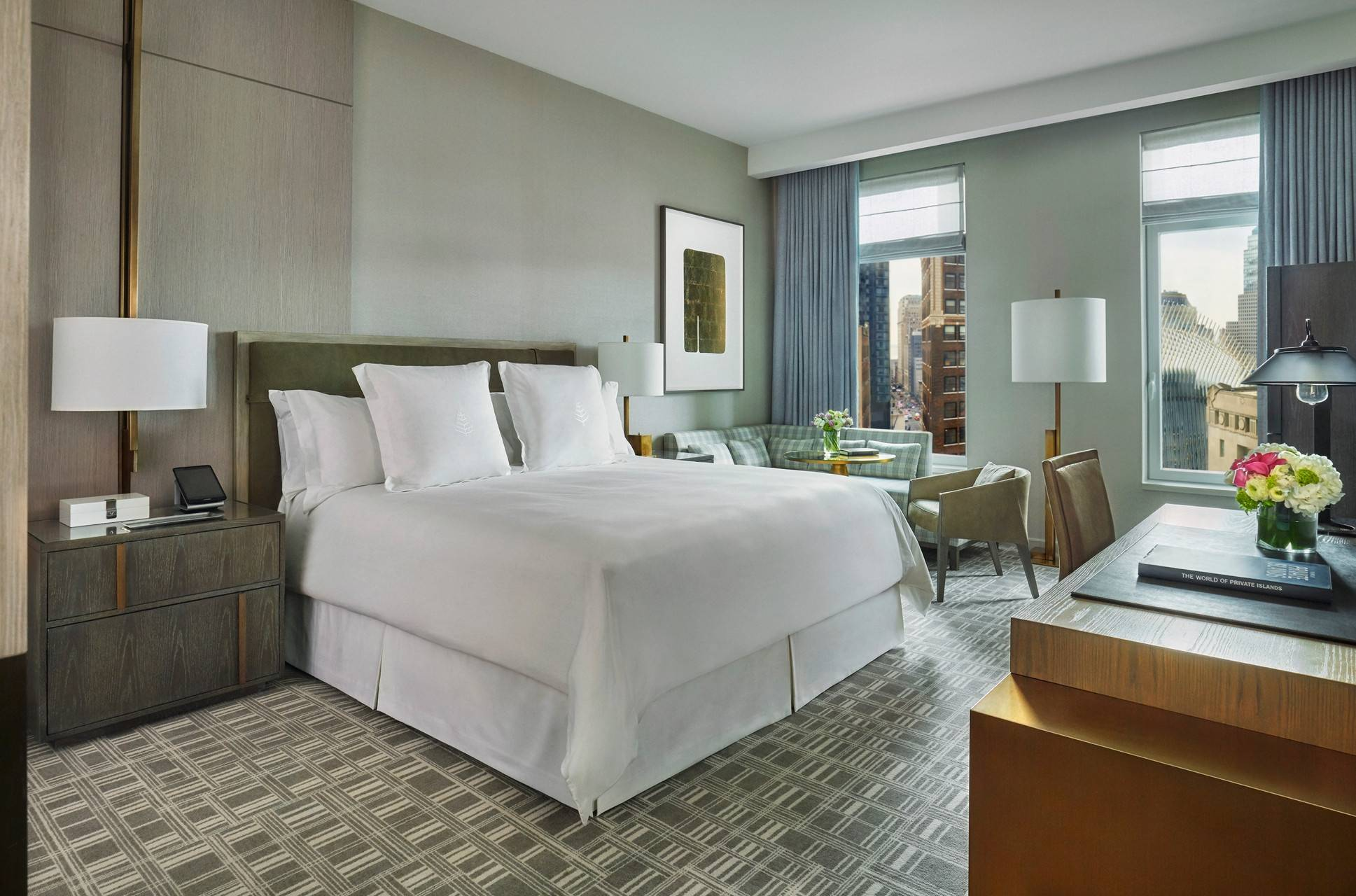 Four Seasons Hotel New York Downtown New York New York At Hrs With Free Services