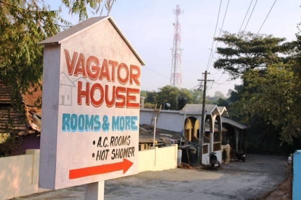Hotel Vagator House Resort Near Vagator Beach