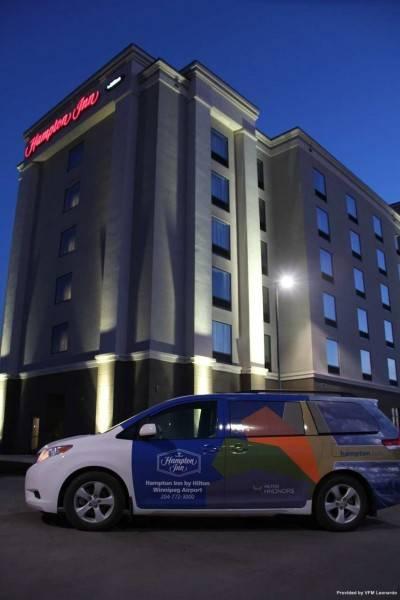 Hampton Inn by Hilton Winnipeg Airport-Polo Park MB Canada