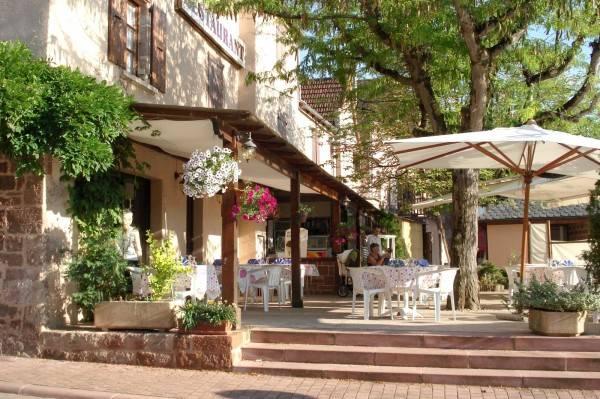 Hotel Auberge aux porte de Conques Logis