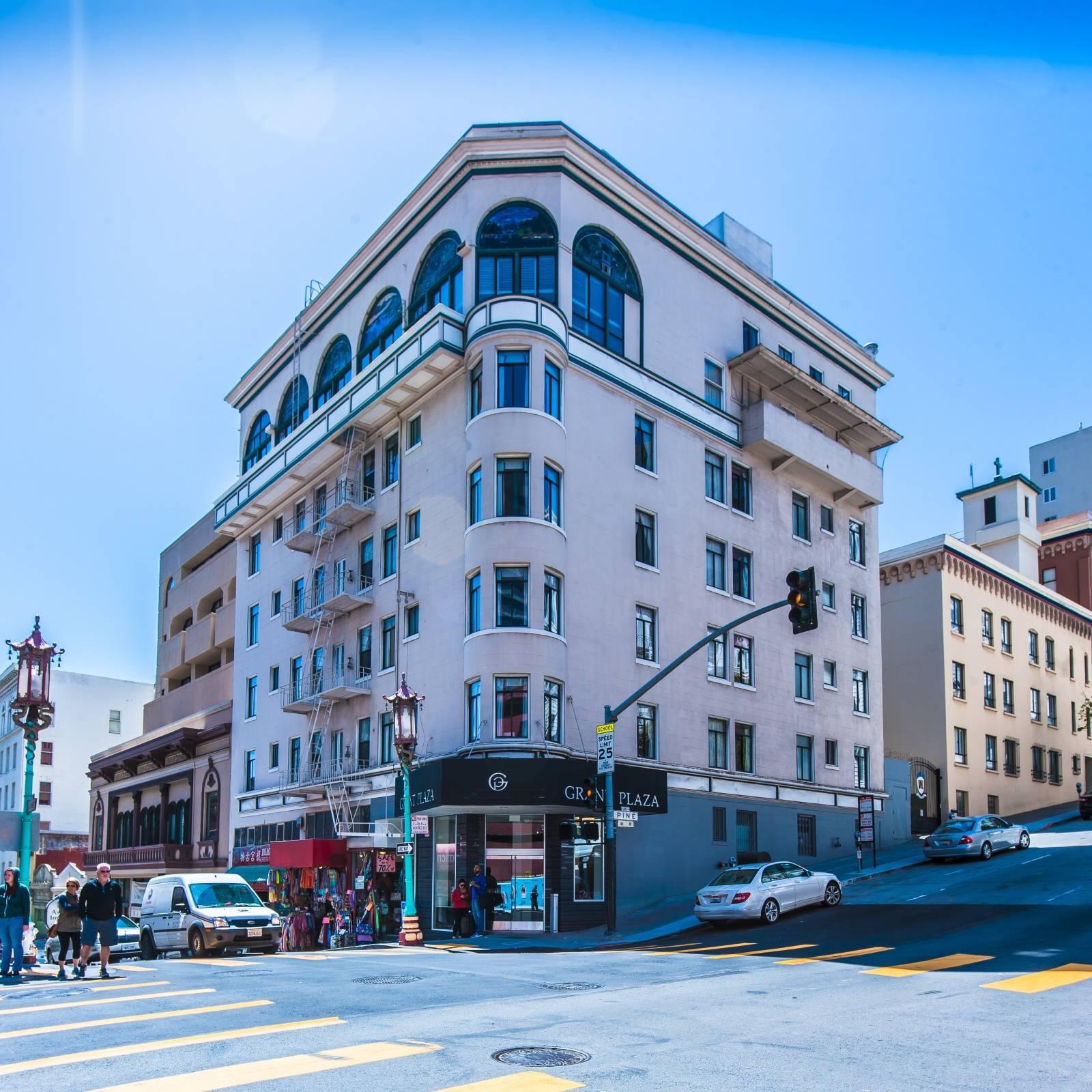 Grant Plaza Hotel In San Francisco California Hrs