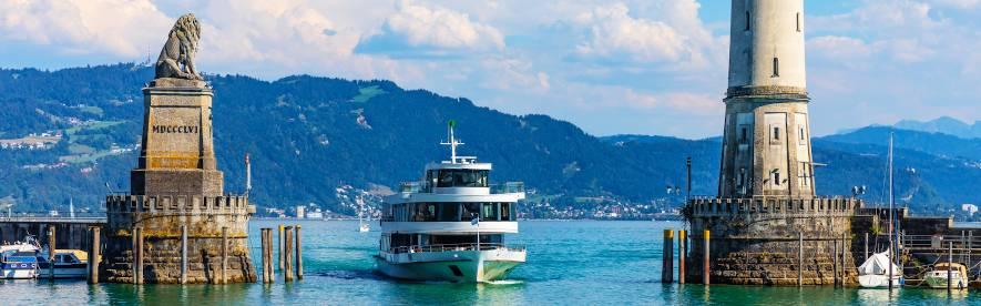 Sommerurlaub mit HRS - beste Unterkünfte, günstige Preise, der Bodensee wartet auf Sie!